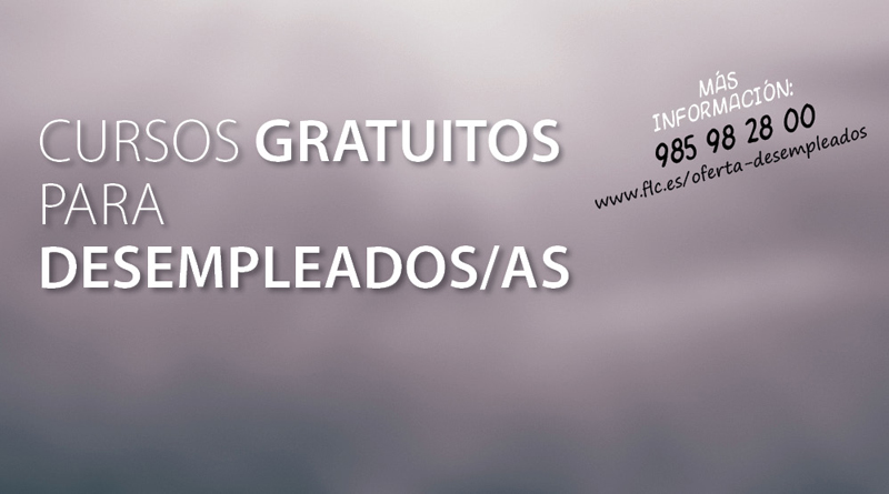 Cursos gratuitos para desempleados/as