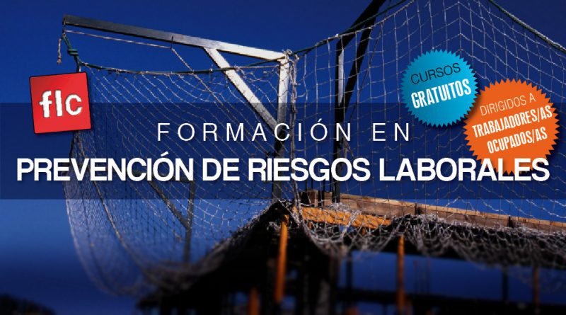 Formación en PRL gratuita dirigida a trabajadores ocupados