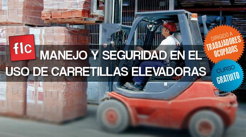 Curso gratuito de manejo y seguridad en el uso de carretillas elevadoras