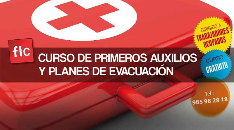 Curso de primeros auxilios y planes de evacuación