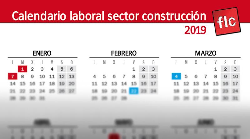 Calendario Laboral Oviedo 2019.Calendario Laboral 2019 Comunicacion Flc