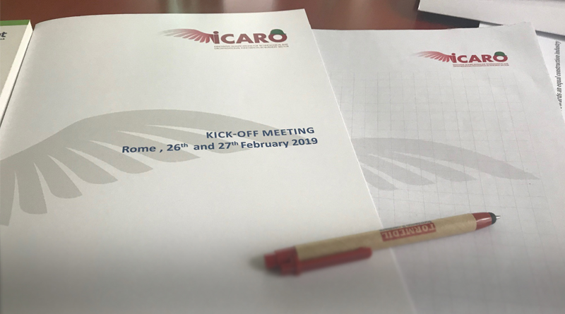 Lanzamiento del proyecto europeo ICARO