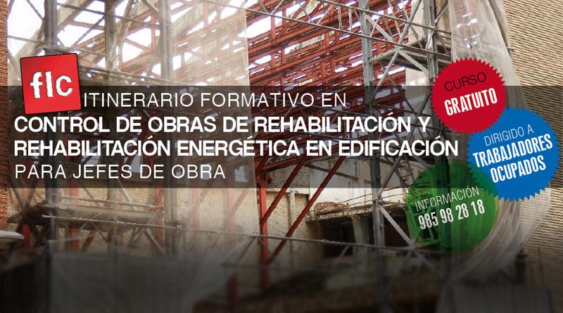 Control de obras de rehabilitación y rehabilitación energética en edificación