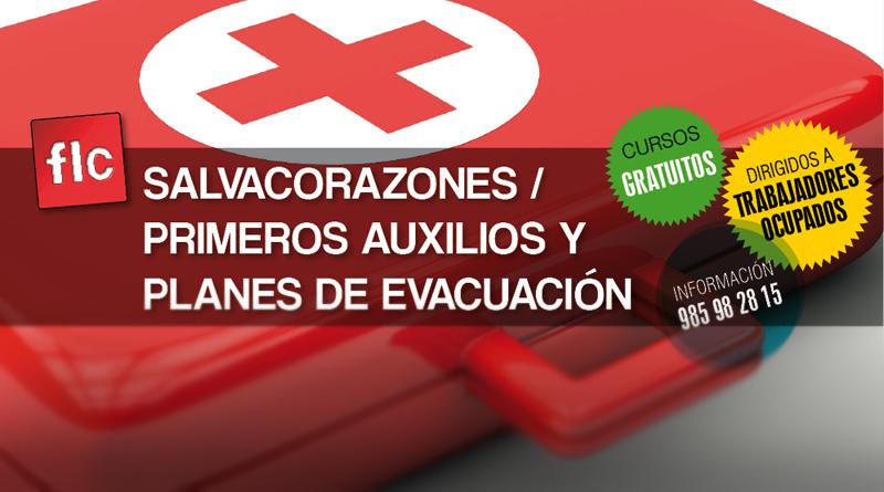 Salvacorazones + Primeros auxilios y planes de evacuación