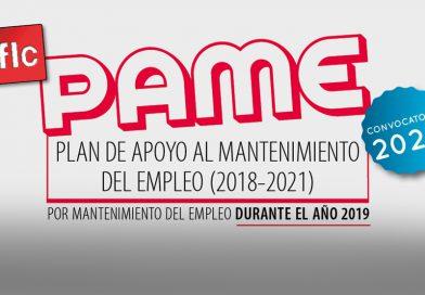 Convocatoria 2020 del PAME (2018-2021)