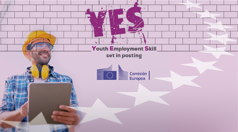 Proyecto europeo YES – Youth Employment Skill set in posting