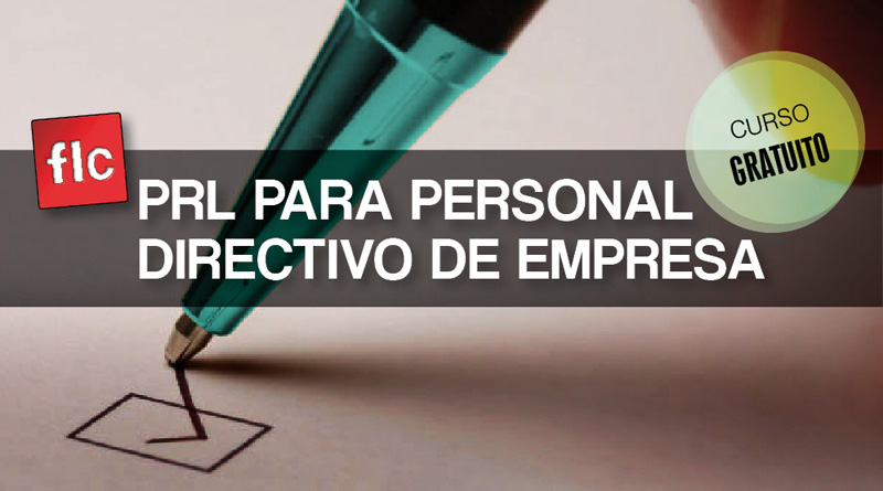 PRL para personal directivo de empresa