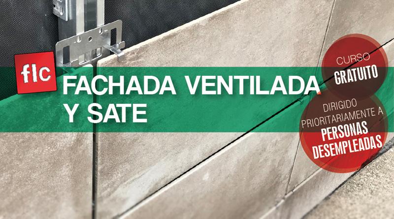 Curso gratuito de fachada ventilada y SATE