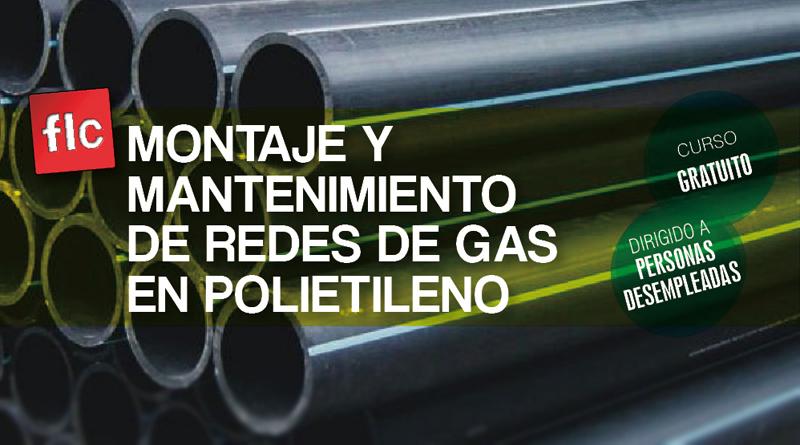Curso de Montaje y mantenimiento de redes de gas en polietileno