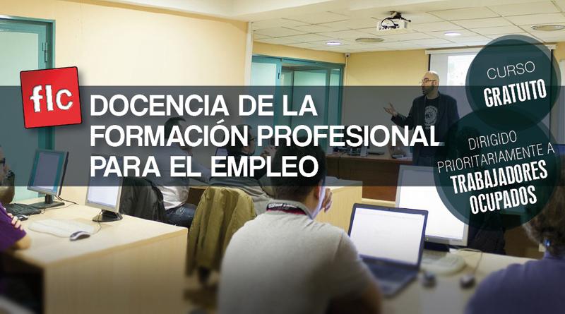 Curso de Docencia de la Formación Profesional para el Empleo